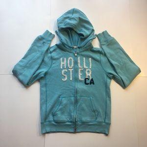 HOLLISTER Women's Full Zip Hoodie Jacket